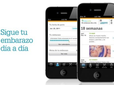 Mi Embarazo Día a Día, la Aplicación Sobre el Embarazo Para iPhone