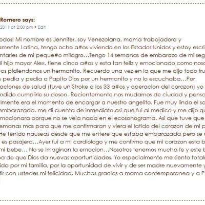 El Baby Shower de Jennifer Romero Organizado por Pampers y TodoBebé