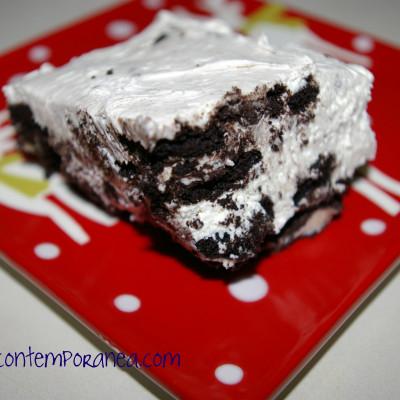 Recetas Para Impresionar con Comida Kraft: Cheesecake de Galletas Oreo