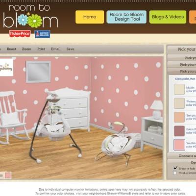 """[CERRADO] Diseña el Cuarto de tu Bebé con """"Room to Bloom"""" de Fisher-Price y Sherwin-Williams. SORTEO"""