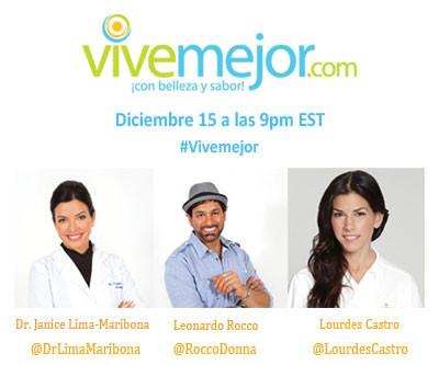 Fiesta en Twitter con #ViveMejor el 15 de Diciembre de 2011