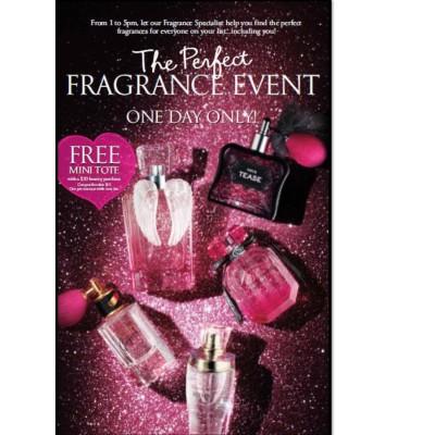 Este Martes 13 de Diciembre en las Tiendas Victoria's Secret hay un Evento de Perfumes