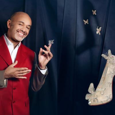 La Moderna Zapatilla de la Ceninienta Creada por Christian Louboutin
