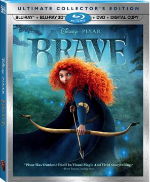 Bluray/DVD de la pelicula BRAVE (Valiente) de Disney/Pixar desde El 13 de Nov. SORTEO