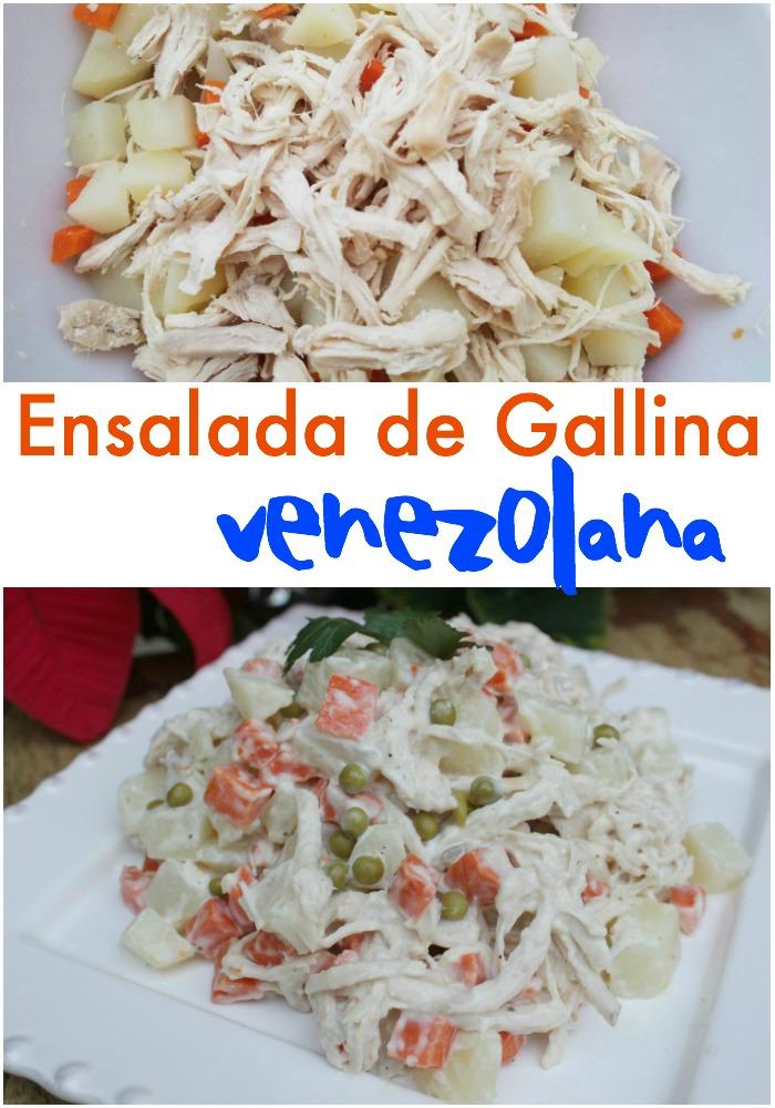 Ensalada de Gallina Venezolana