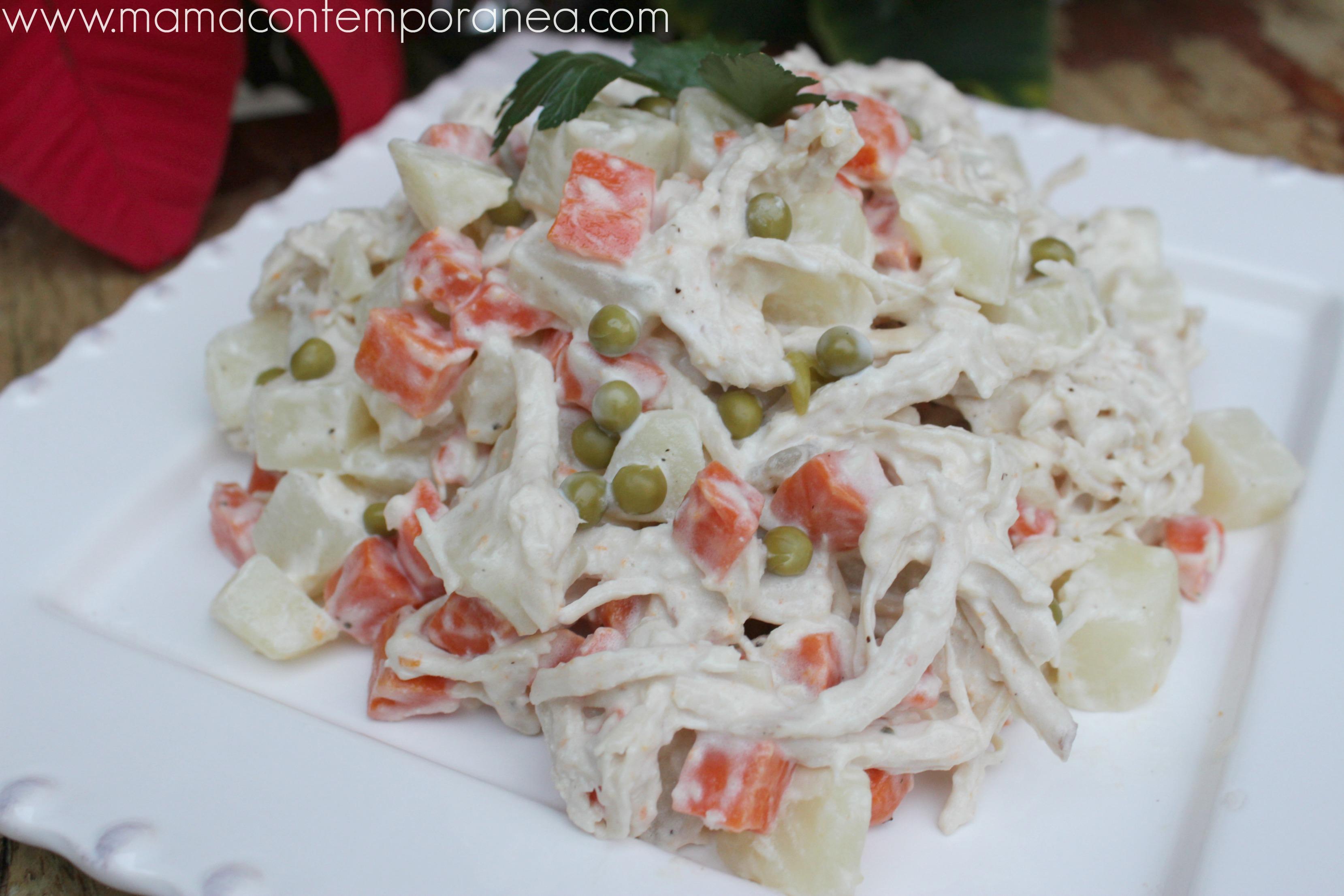 Ensalada de gallina venezolana scannone recipes