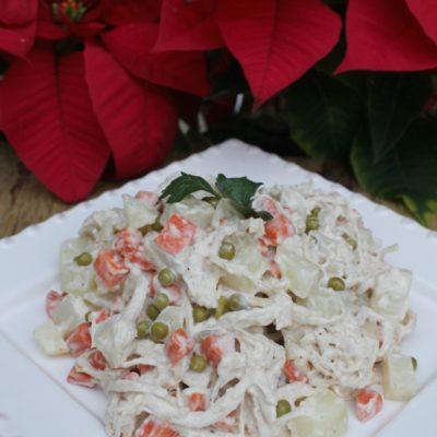 Receta: Como Preparar Ensalada de Gallina (Pollo)
