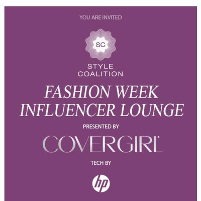 COVERGIRL y el Fashion Week Influencer Beauty Lounge