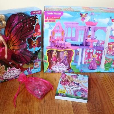 Barbie Mariposa y la Princesa de las Hadas. SORTEO