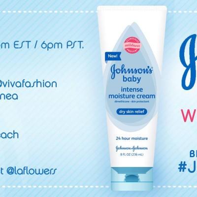 Fiesta en Twitter con #JOHNSONSBaby