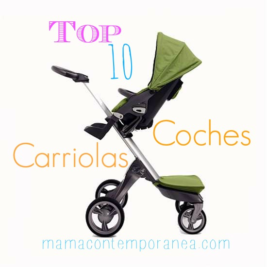 Top 10: Coches/Carriolas de una Mamá Contemporánea