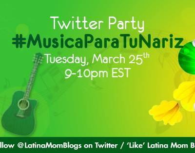 Fiesta en Twitter #MusicaParaTuNariz con Gain