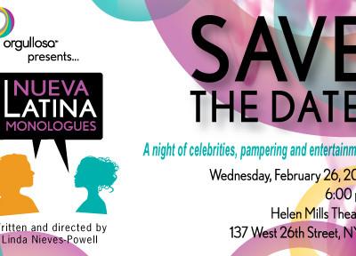 Orgullosa Presentó #NuevaLatina en New York. Evento y Monólogos