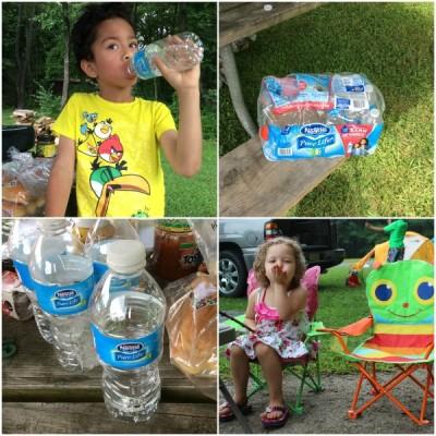 Meriendas Saludables y Agua en la Lonchera. #MamasPureLife