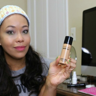 Reseña: Base Mineral, BareSkin Pure Brighting Serum Foundation