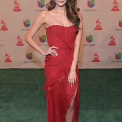 El Look de Génesis Rodriguez en los Latin Grammy 2014