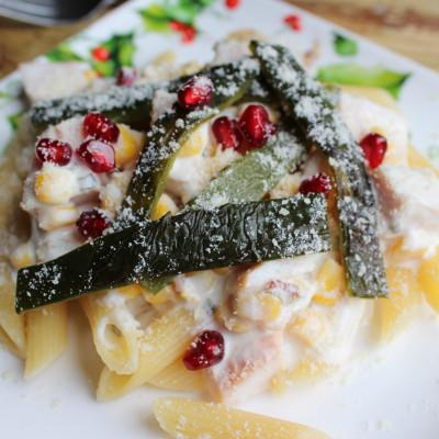Salsa de Maíz y Chile Poblano con Pavo – #ComidaKraft