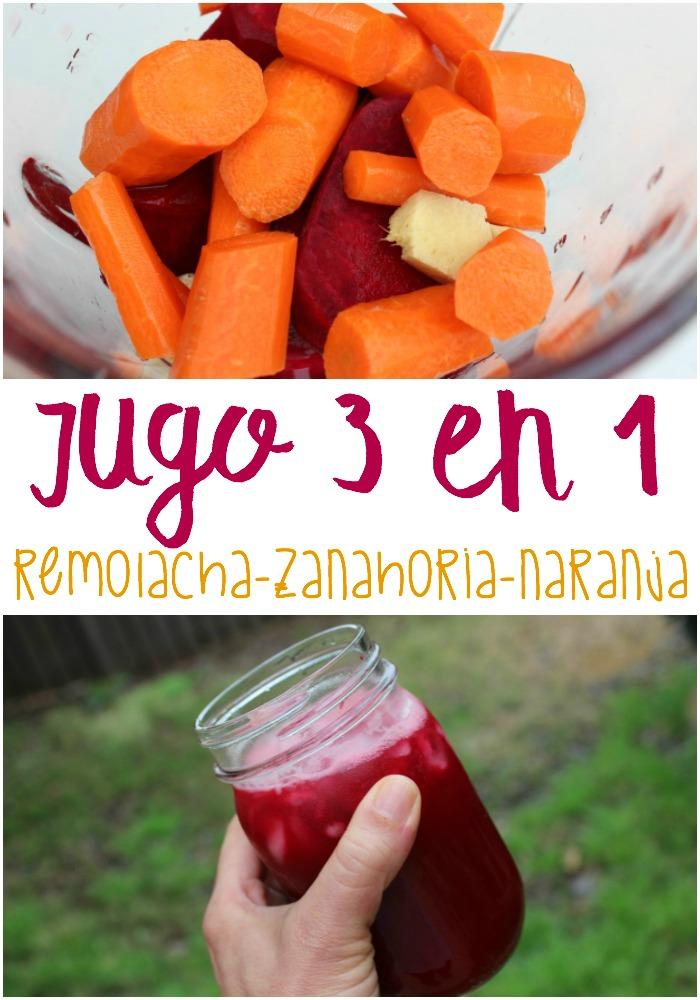 Jugo 3 En 1 Remolacha O Betabel Zanahoria Y Naranja By erica dinho 8 comentarios. mama contemporanea
