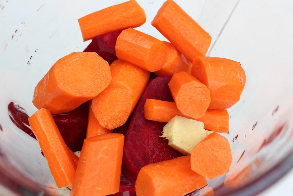 Jugo 3 en 1- Remolacha o Betabel, Zanahoria y Naranja