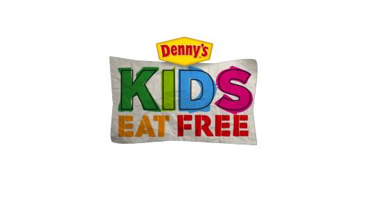 Denny's Kids Eat Free logo