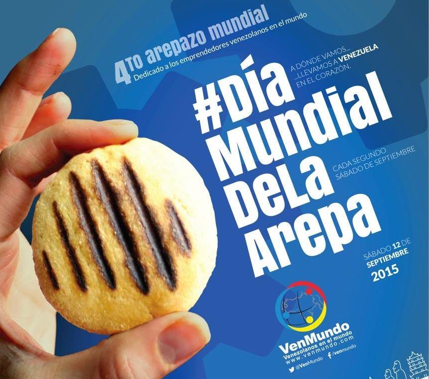Dia Mundial de la Arepa 2015 - Mamá Contemporánea