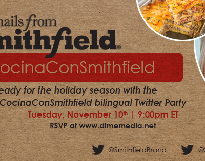 Twitter Party Bilingue #CocinaConSmithfield