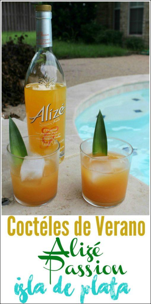 Coctéles de Verano con Vodka Alizé, este se llama Isla de Plata | Mamá Contemporánea