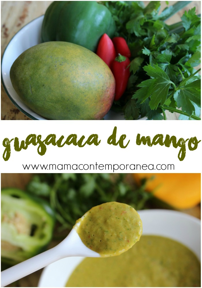 Guasacaca Venezolana de Mango | Mamá Contemporánea
