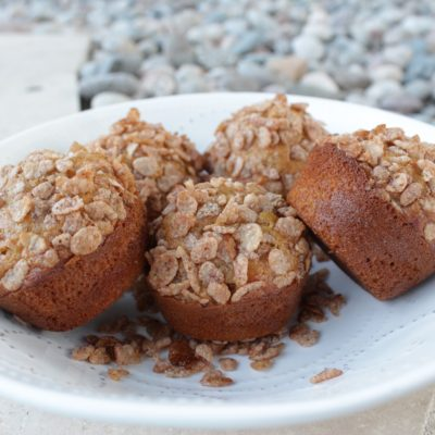 Muffins de Zanahoria con Cinnamon Pebbles