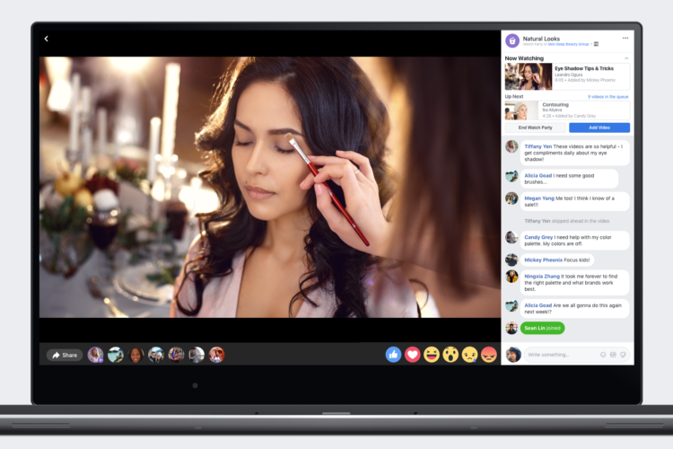 Facebook Lanza Watch Party en Todo el Mundo