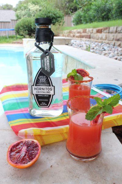 Margaritas de Naranja Roja