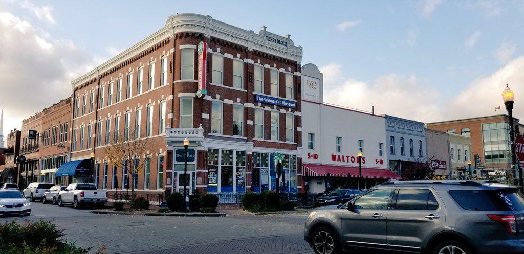 Descubre Bentonville en Arkansas