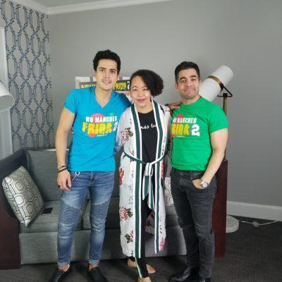 Mario Morán y Omar Chaparro -No Manches Frida 2