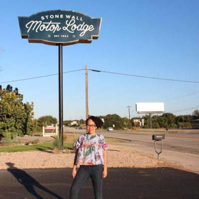 Donde Quedarse en Texas Hill Country- Stonewall Motor Lodge