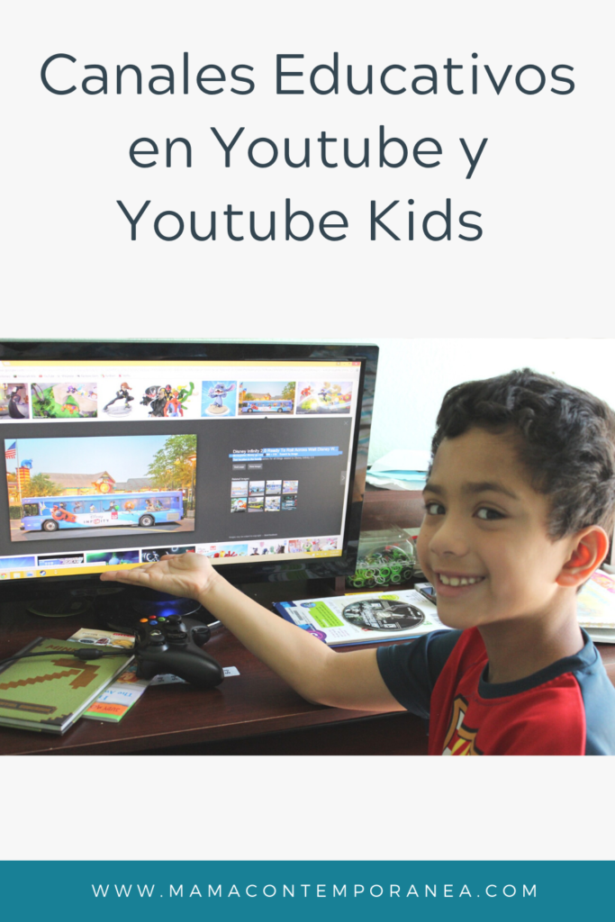 Canales Educativos en Youtube y en Youtube Kids