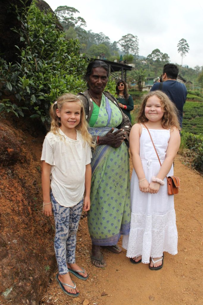 Ceylon Tea en Sri Lanka
